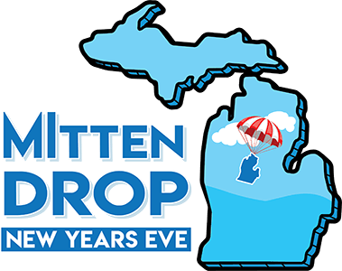 Michigan Mitten Drop Logo